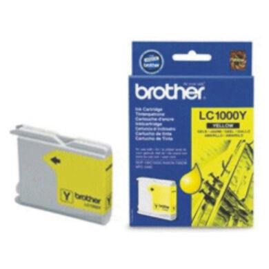 Brother LC1000Y - originální - Yellow na 400 stran(031-03035)