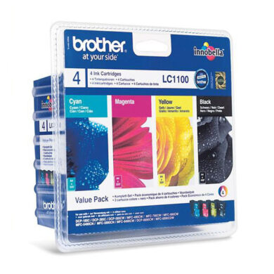 BROTHER LC1100BCMY pack pro DCP6690(031-03275)