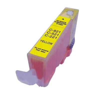 Canon CLI-521Ye - kompatibilní - Yellow(031-03374)