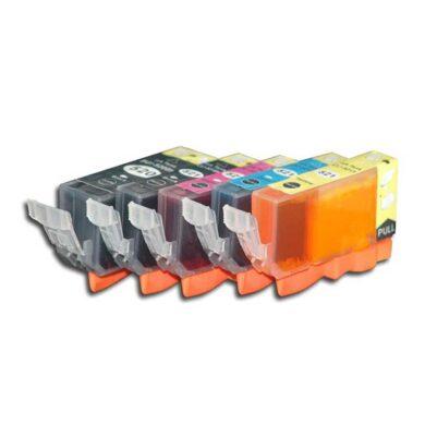 Canon CLI-521 C/M/Y/Bk - kompatibilní - sada barev + černá 520Bk(031-03375)