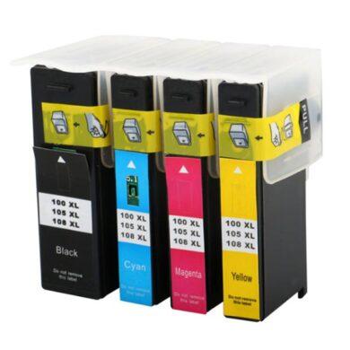 Lexmark 14N0850 (100XL CMY) - kompatibilní - sada barev Bk/C/M/Y(031-03624)