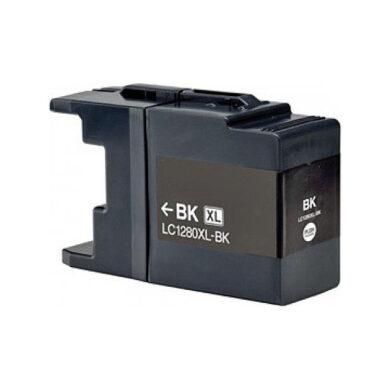 Brother LC1280XLBK - kompatibilní - Černá vekoobjemová na 2400 stran(031-03930)