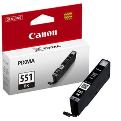 Canon CLI-551Bk - originální - Černá na 1645 stran(031-03941)