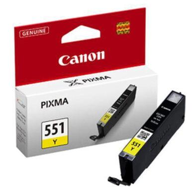 Canon CLI-551Y - originální - Yellow na 329 stran(031-03944)