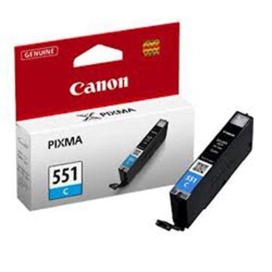 Canon CLI-551C XL - originální - Cyan velkoobjemová na 700 stran(031-03952)