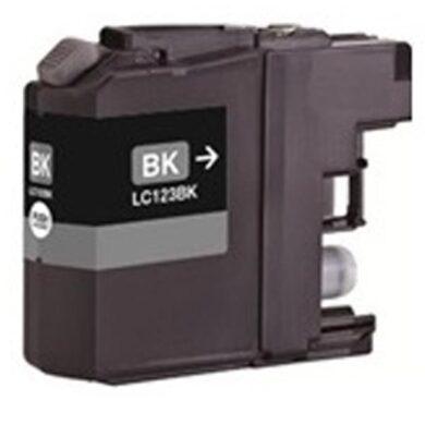 Brother LC123BK - kompatibilní - Černá vekoobjemová na 600 stran(031-04195)