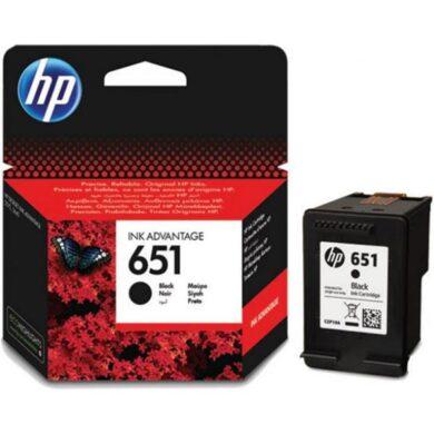 HP C2P10AE (651) - originální - Černá na 600 stran(031-04360)
