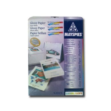 Photopapír pro laser A4/115gr. glossy, 1 list(060-00020)