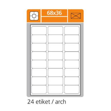 SK LABEL 68x36       (1 list) Etikety(065-01420)