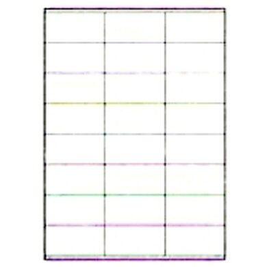SK LABEL 70x36       (1 list) Etikety(065-01500)