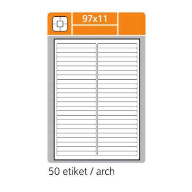 SK LABEL 97x11       (1 list) Etikety(065-01560)