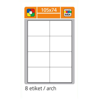 SK LABEL 105x74      (1 list) Etikety(065-01640)