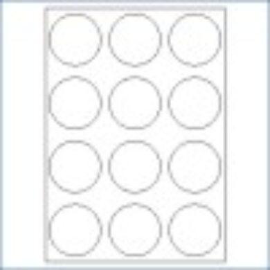 3416-Las. etiketa prům.60 (1 list)(066-01830)