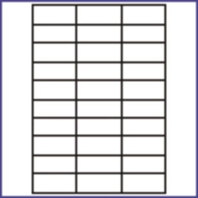 3421-Las. etiketa 70x25.4 (1 list)(066-01910)