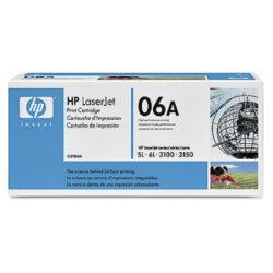HP C3906A (06A) - originální - Černá na 2500 stran