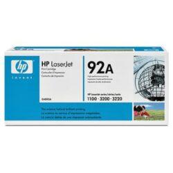 HP C4092A (92A) - originální - Černá na 2500 stran