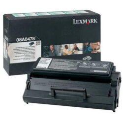 Lexmark 08A0478 RETURN - originální - Černá vekoobjemová na 6000 stran