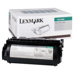 Lexmark 12A7460 RETURN - originální - Černá na 5000 stran
