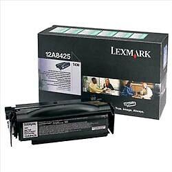 Lexmark 12A8425 RETURN - originální - Černá velkoobjemová na 12000 stran