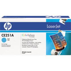 HP CE251A (504A) - originální - Cyan na 7000 stran