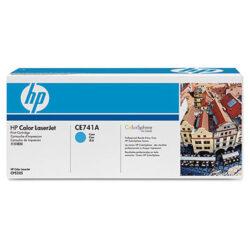 HP CE741A (307A) - originální - Cyan na 7300 stran