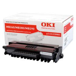 OKI 01240001 (PRINT-CART-MB200) - originální - Černá vekoobjemová na 5500 stran