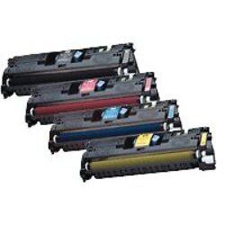 HP Q3961+ CY (122A) Renovace kazety s čipem (3971) 4k-Předem nutno zaslat prázdnou kazetu