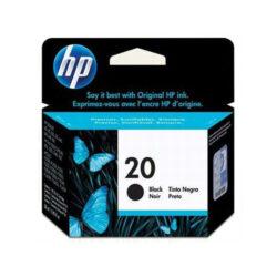 HP C6614D (20) - originální - Černá na 455 stran