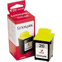 Lexmark 15M0120E (20) - originální - Barevná