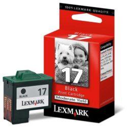 Lexmark 10NX217E (17) - originální - Černá na 205 stran