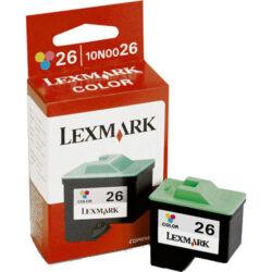 Lexmark 10N0026E (26) - originální - Barevná velkoobjemová na 275 stran