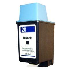 HP C6614D (20) - kompatibilní - Černá na 455 stran