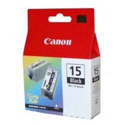 Canon BCI-15Bk - originální - Černá