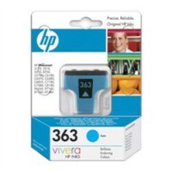 HP C8771E (363) - originální - Cyan na 410 stran