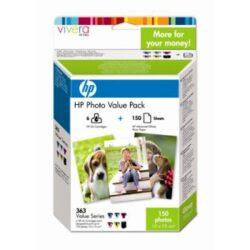 HP Q7966EE Photo pack 10x15 cm, 363serie - originální