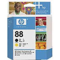 HP C9381A head Bk+Ye no.88 pro K550 - originální
