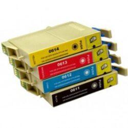 Epson T0615 - kompatibilní - sada barev  Bk/C/M/Y