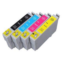 Epson T0715 - kompatibilní - sada barev  Bk/C/M/Y