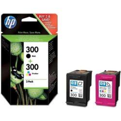 HP CN637E (300) - originální - Černá + sada barev