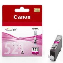 CANON CLI-521 MA pro IP3600/4600, 9ml magenta ink.