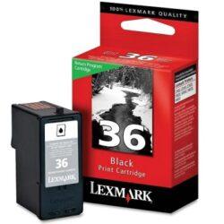 Lexmark 18C2130E (36) RETURN - originální - Černá na 175 stran