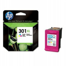 HP CH564E no.301XL, ink color-HP CH564E (301XL) - originální - Barevná velkoobjemová na 330 stran