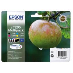 Epson T1295 - originální - Černá + sada barev