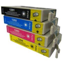 Epson T1295 - kompatibilní - sada barev  Bk/C/M/Y