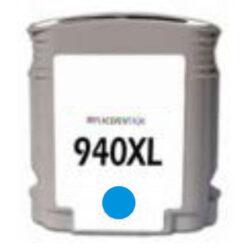 HP C4907AE (940XL) - kompatibilní - Cyan velkoobjemová na 1400 stran