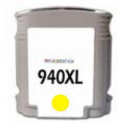 HP C4909AE (940XL) - kompatibilní - Yellow velkoobjemová na 1400 stran