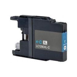 Brother LC1280XLC - kompatibilní - Cyan velkoobjemová na 1200 stran