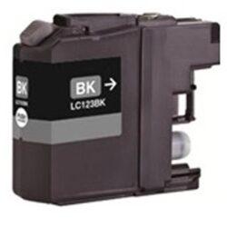 Brother LC123BK - kompatibilní - Černá vekoobjemová na 600 stran