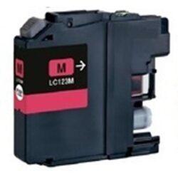 Brother LC123M - kompatibilní - Magenta velkoobjemová na 600 stran