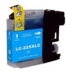 Brother LC225XLC - kompatibilní - Cyan velkoobjemová na 1200 stran